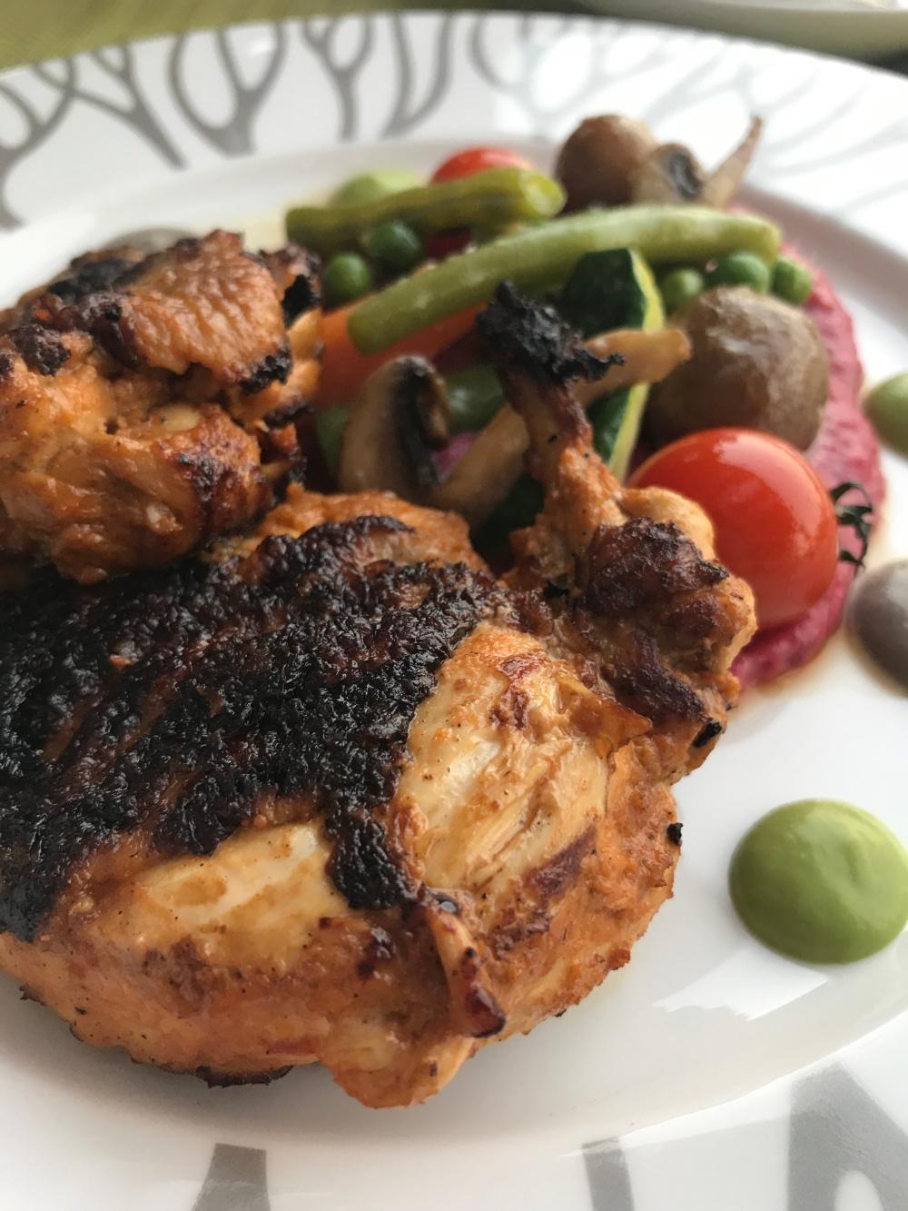 more chicken